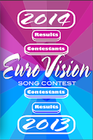 Screenshot of Eurovision 2014 Information