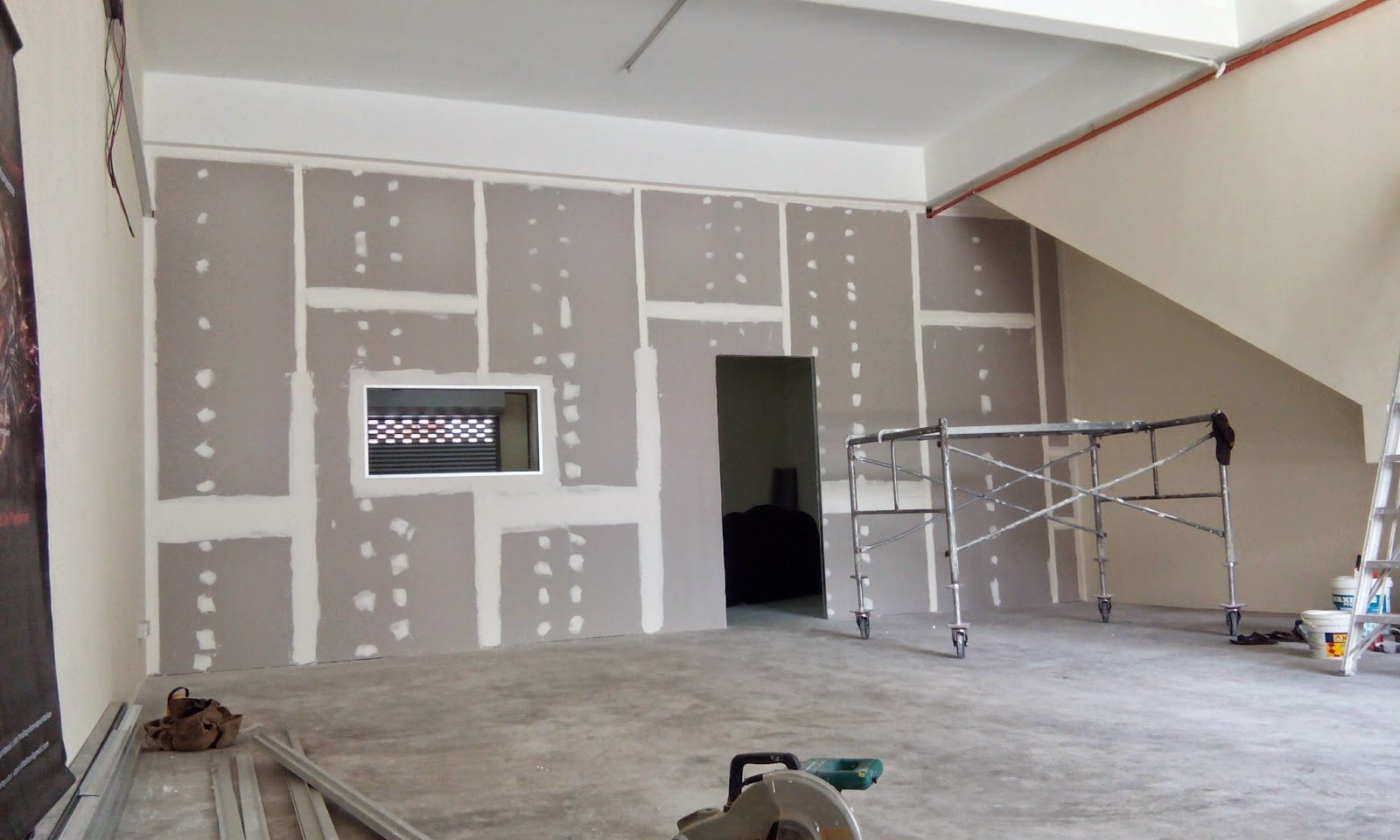 Plaster Ceiling And Wall Drywall Gypsum Construction