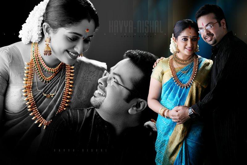 Kavya Madhavan's wedding Album Pics: Bride adorned with ...