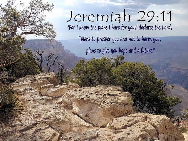 Following jesus jeremiah 29 11 - Jer 29 11 kjv ...