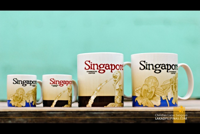 Singapore Starbucks Global Icon City Mugs