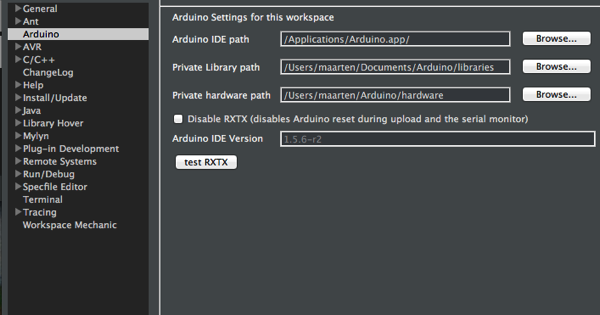 eclipsophy: Workspace Mechanic and Eclipse Arduino Plugin