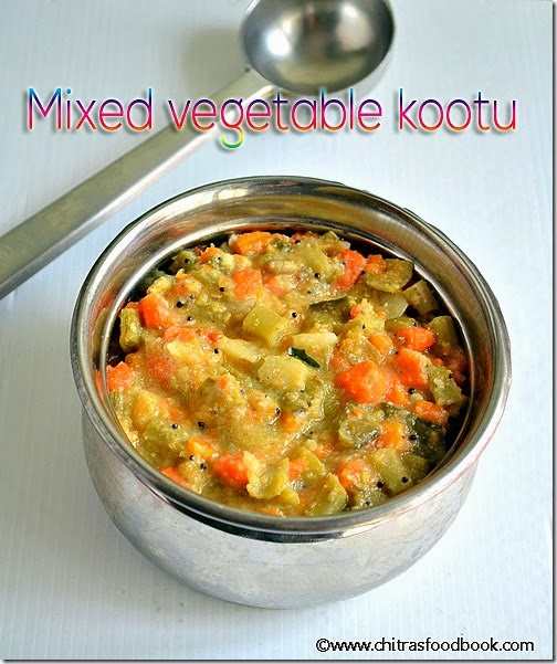 MIXED VEGETABBLE KOOTU FOR RICE