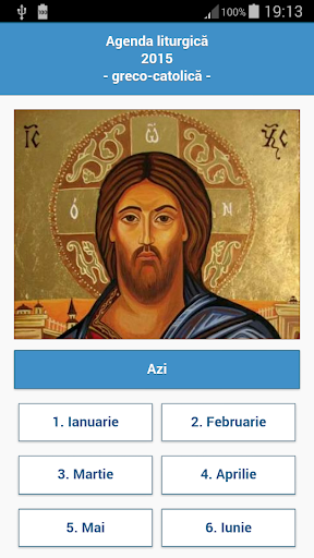 Agenda Greco-Catolica 2015