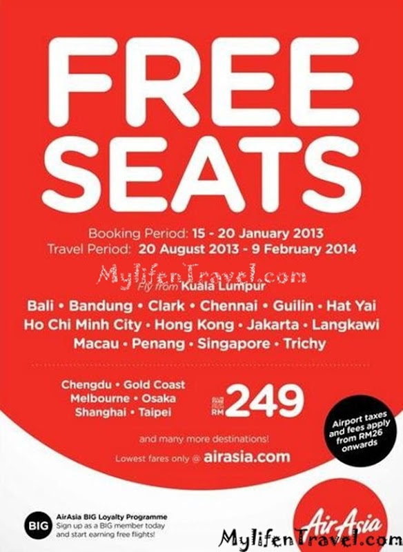 airasia free ticket