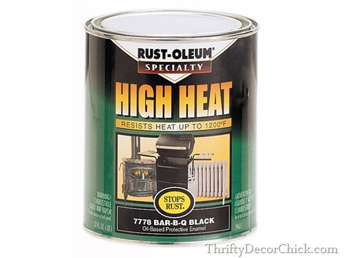 high heat black paint