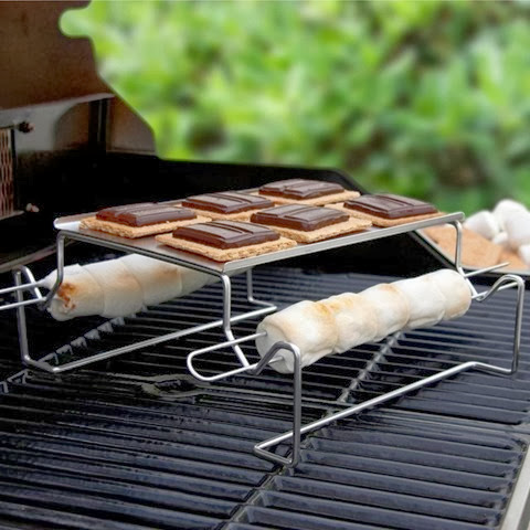 Camping equipment for cooking Smores