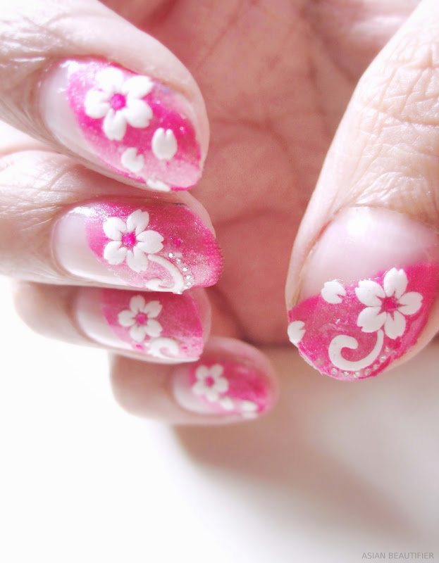 Nail Art Using Nail Stickers
