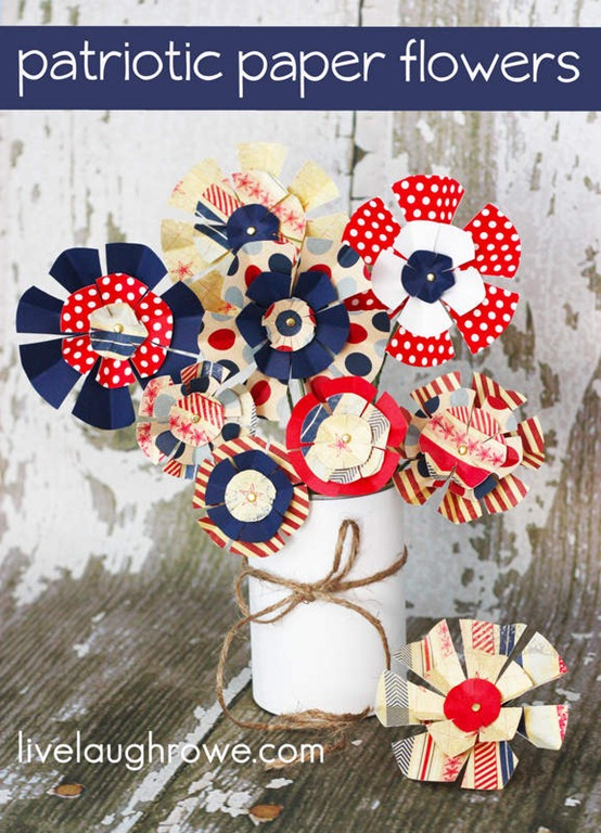 57 Styled-Patriotic-Paper-Flowers_livelaughrowe