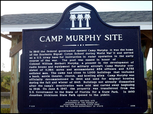 03l - Hobe Tower - Camp Murphy Sign
