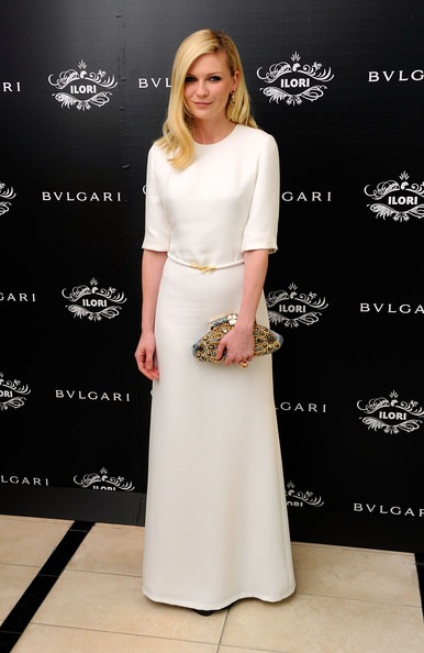 Kirsten Dunst Bulgari Le Gemme Eyewear Collection