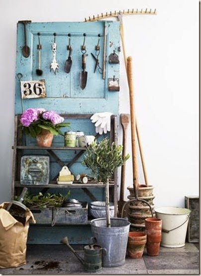 potting-bench-made-of-a-door