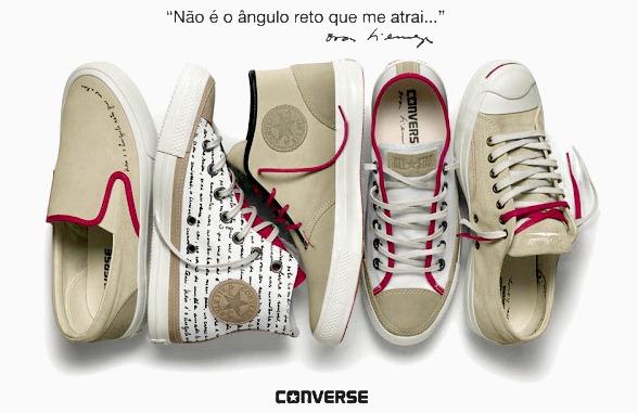 fd8ea4202ad CONVERSE lança tênis All Star + Oscar Niemeyer – Coleção limitada ...