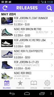 SC - Nike Jordan Release Dates