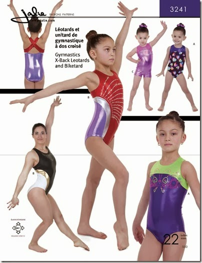 f933e3cea465 Two On Two Off  Jalie 3241 - X-back Gymnastics Leotard