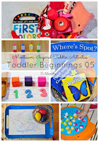 Toddler Beginnings 05: Activities for 15 Months Toddlers