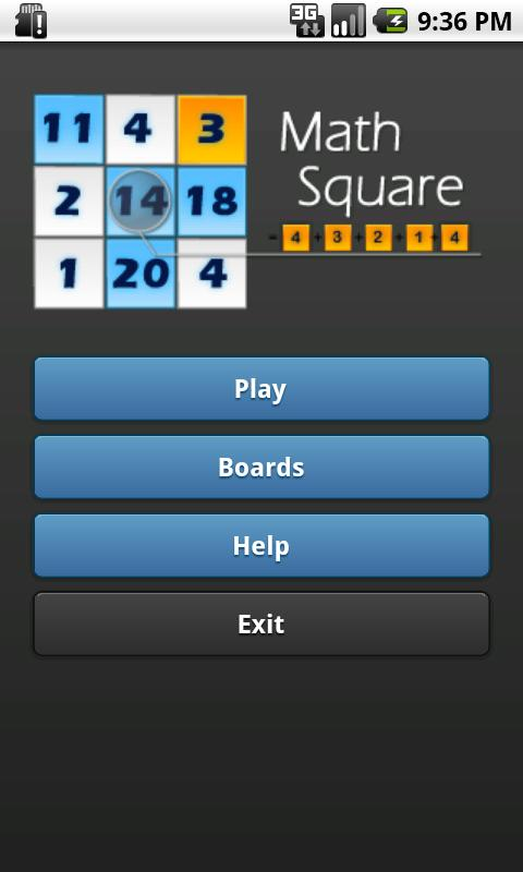 Math Square- screenshot