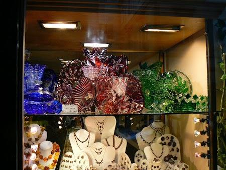 Shopping Praga: Cristal de Boemia