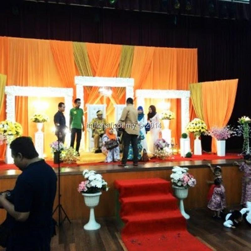 Majlis Resepsi di Dewan Serbaguna Presint 8 Putrajaya