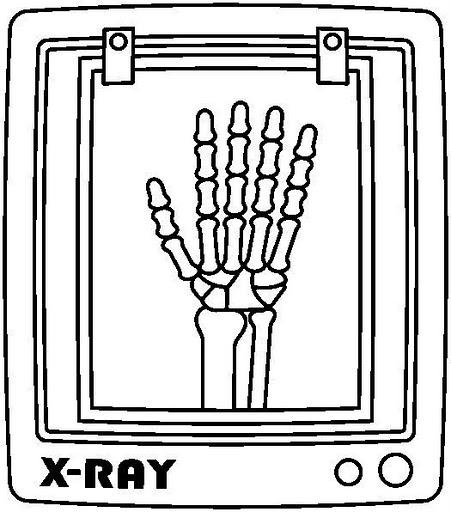 Radiografias Dibujos Para Colorear