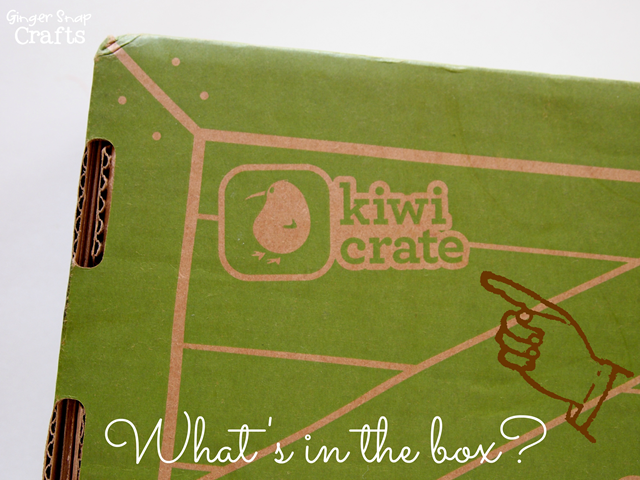 Kiwi Crate fun activities for kids