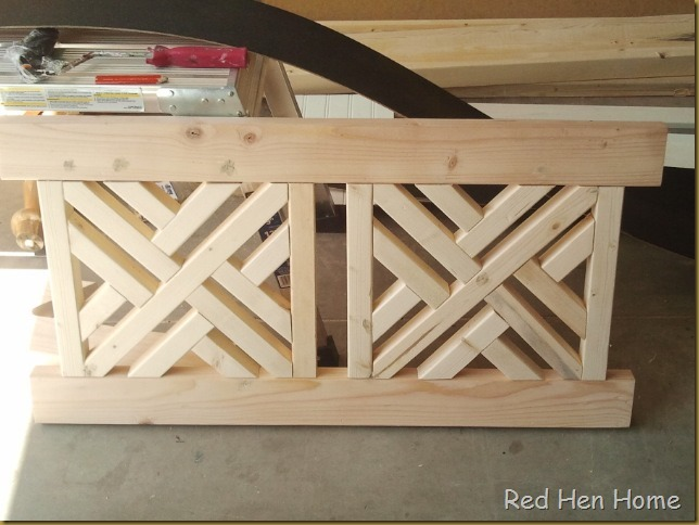 Red Hen Home bench back 4