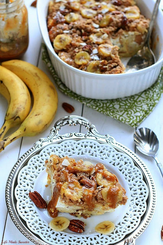 Easy Overnight Banana Pecan Streusel French Toast Bake - by --@LifeMadeSweeter.jpg