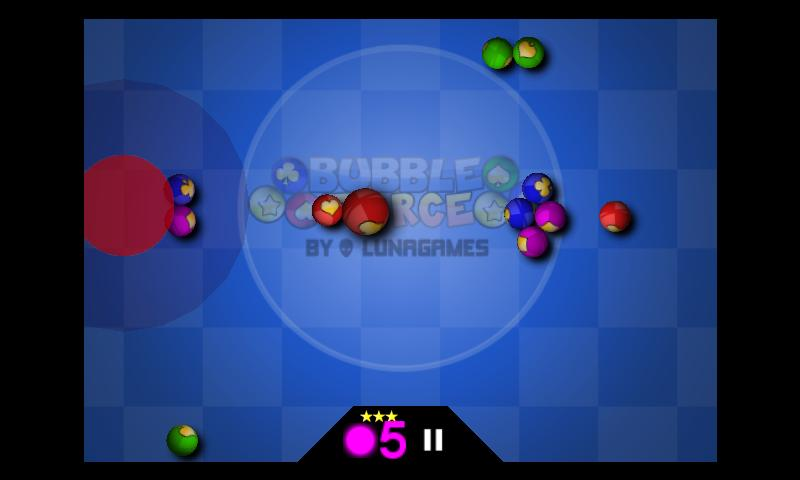 Bubble Force: Physics Puzzle - screenshot