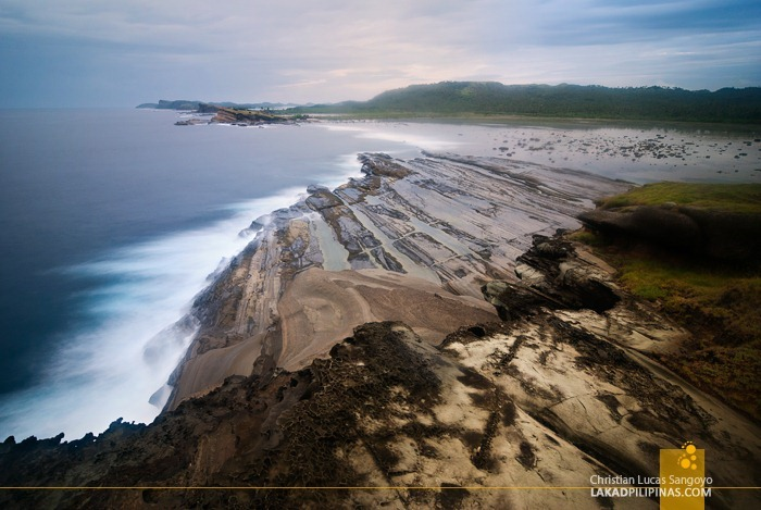 Biri Rock Formation in Samar