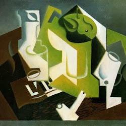 Juan Gris (1919): Compotier et verre. Kunsthaus Zürich. Alemania.