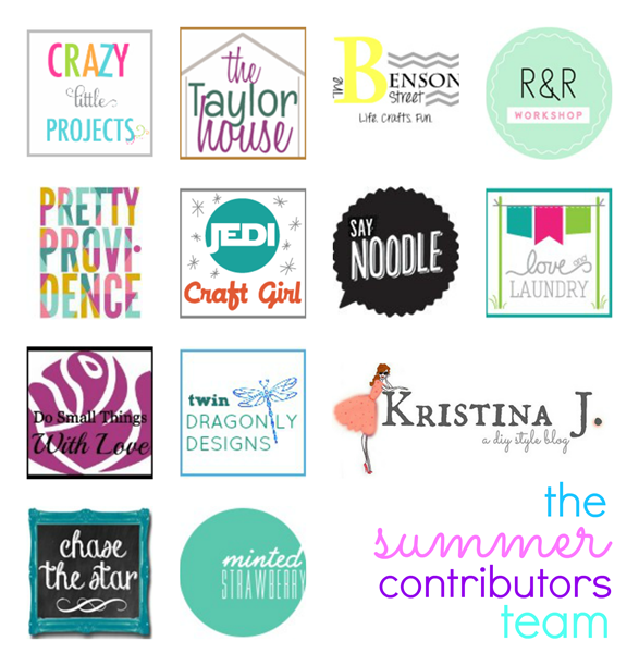Summer Contributors Team at GingerSnapCrafts.com