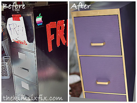 Filing cabinet transformation