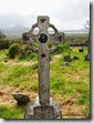 Peninsula de Dingle. Ruta de Slea Head. Kilmakedar church. Cementerio - P5060974
