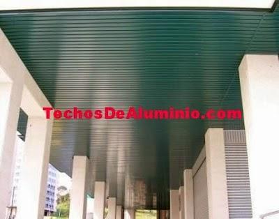 Techos aluminio Castelldefels