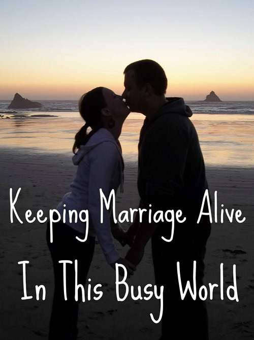 Keeping Marriage Alive