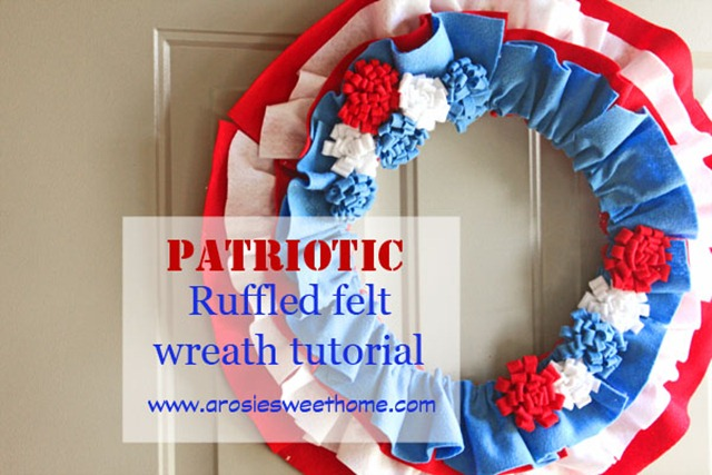 57 patriotic wreath