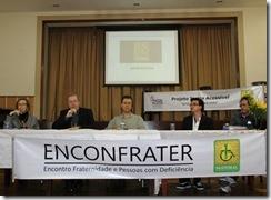 Mesa do seminário Enconfrater