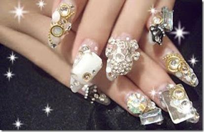 ver imagenes uñas de acrilico para poner