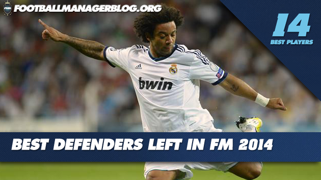 Best Players in Football Manager 2014 Defenders Left