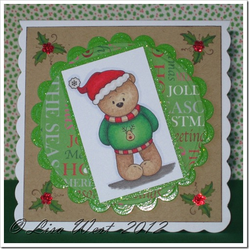 Little Bear Winter Fun Card (9)