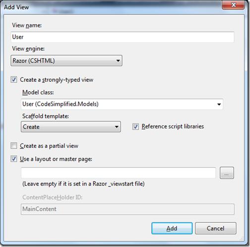 Setting Default Value for @Html EditorFor in ASP NET MVC - DZone Web Dev