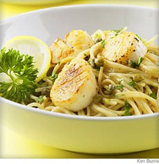scallop_piccata_on_angel_hair