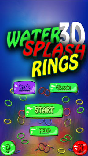 Water Splash Rings 3D