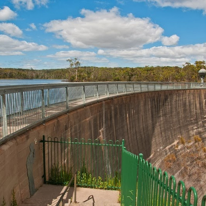 The Whispering Wall of Barossa Reservoir