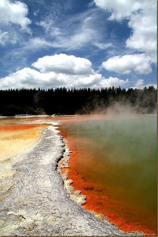 Champagne Pool - Wai-o-tapu thermal wonderland - Rotorua