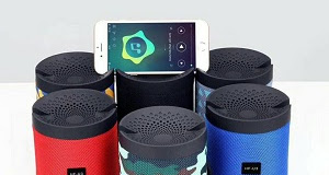 Loa Bluetooth HF-U3 - Có Chân Đế Làm Giá Đỡ Điện Thoại - ÂM THANH CỰC HAY