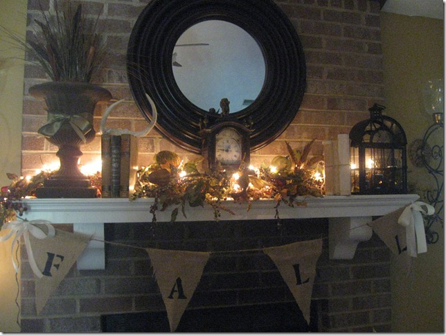 Gracious Southern Living Fall Mantel And Dining Room