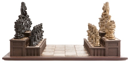 legally theme chess board