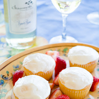 Wine and Cheese Cupcakes Recipe