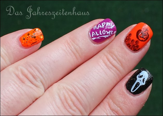 Halloween Nail Art Mix n Match 5